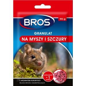 Granulat Na Myszy I Szczury 90g Bros