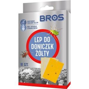 Lep Do Doniczek Żółty 10szt  Bros