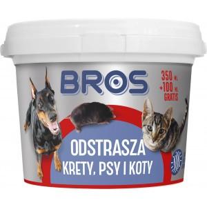 Odstrasza Krety Psy Koty 350ml+100ml Gratis Bros