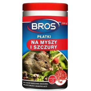 Płatki Płatkil Na Myszy I Szczury 250g Bros