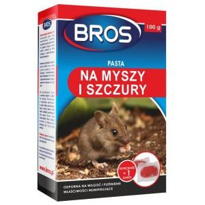 Pasta Na Myszy I Szczury 100g Bros