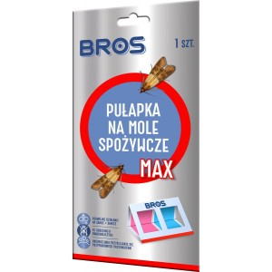 Pułapka Na Mole Spożywcze MAX Lep Feromonowy Bros