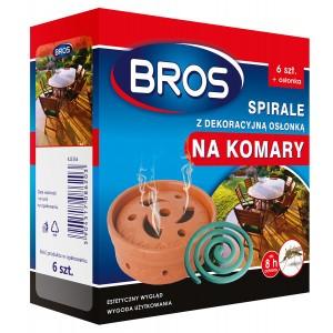 Spirale Na Komary 6szt Z Dekoracyjną Osłonką  Bros