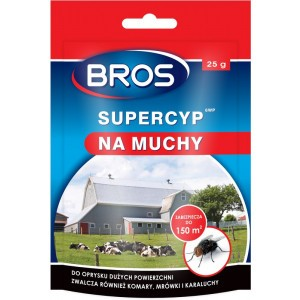 Supercyp Preparat Na Muchy, Komary, Owady 25g Bros