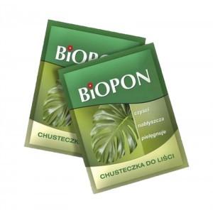 Chusteczka Pielęgnacyjna Do Liści Biopon 1szt