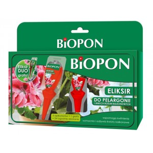 Eliksir Do Pelargonii Balkonowych 5x35ml Biopon