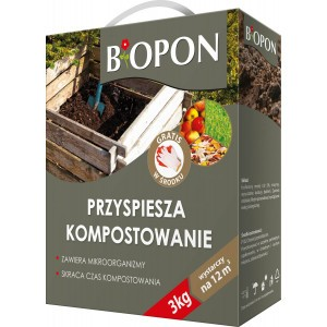 Komposter Przyspiesza Kompostowanie 3kg Biopon