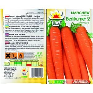 Nasiona Marchew Berlikumer Perfekcja Toraf