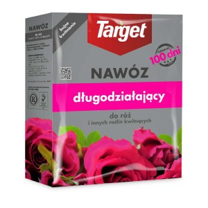Nawóz Długodziałający Do Róż 1kg Target 100dni