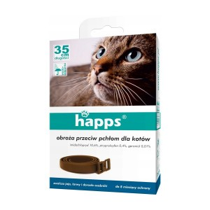 Obroża Przeciw Pchłom Dla Kotów Happs