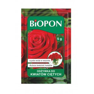 Odżywka Do Kwiatów Ciętych 5gr Biopon