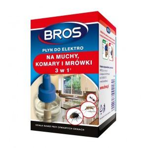 Płyn Do Elektro Na Muchy Komary Mrówki Bros
