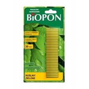Pałeczki Nawozowe Do Roślin Zielonych 30szt Biopon