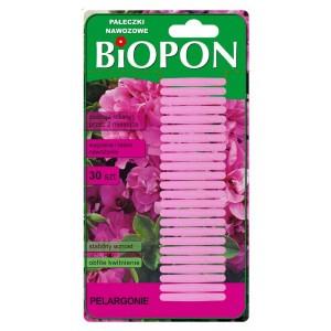Pałeczki Nawozowe Do Pelargonii 30szt Biopon