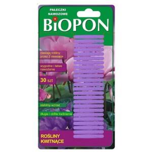 Pałeczki Nawozowe Do Roślin Kwitnących 30szt Biopon
