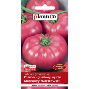Pomidor Gruntowy Malinowy Warszawski 0,5g PlantiCo