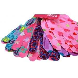 Rękawice Kolorowe Kobiece M