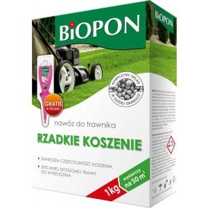 Nawóz Do Trawnika Rzadkie Koszenie Biopon 1kg