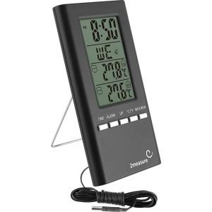 Stacja Pogody Zegar Termometr Czujnik Kabel