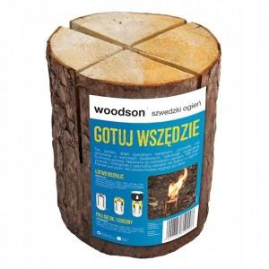 Szwedzki Ogień Naturalne Ognisko Woodson