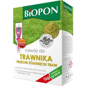 Nawóz Do Trawnika Przeciw Żółknięciu 1kg Biopon
