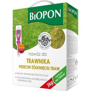 Nawóz Do Trawnika Przeciw żółknięciu 3kg Biopon