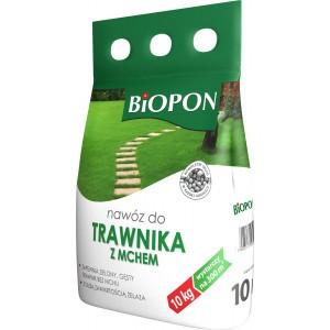 Nawóz Do Trawnika Z Mchem 10kg Biopon