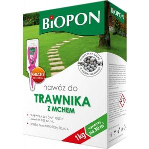 Nawóz Do Trawnika Z Mchem 1kg Biopon