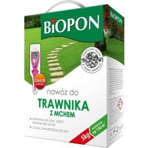 Nawóz Do Trawnika Z Mchem 5kg Biopon