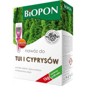 Nawóz Do Tui I Cyprysów 1kg Biopon