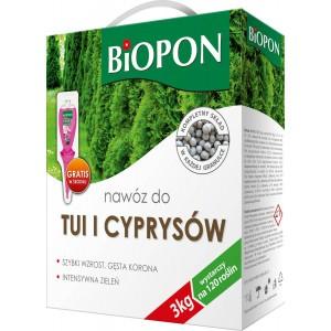 Nawóz Do Tui I Cyprysów 3kg Biopon