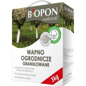 Wapno Ogrodnicze Granulowane 3kg Biopon