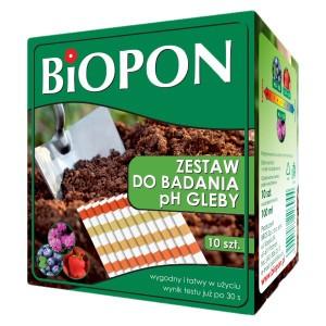 Zestaw Do Badania PH Gleby Kwasomierz Biopon